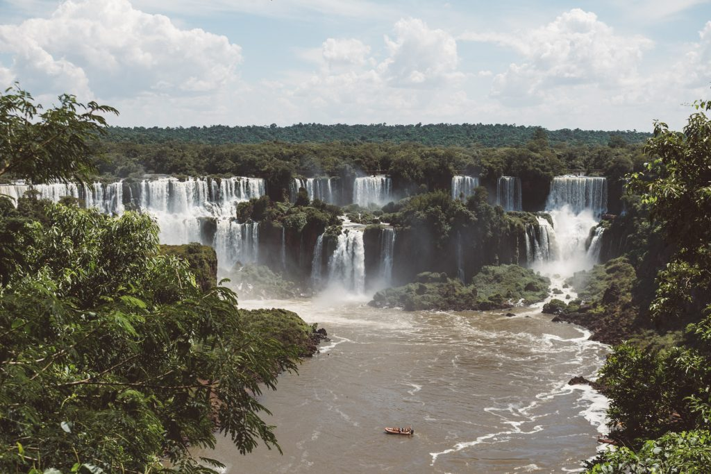 View From Brazilian side of Iguazu Falls