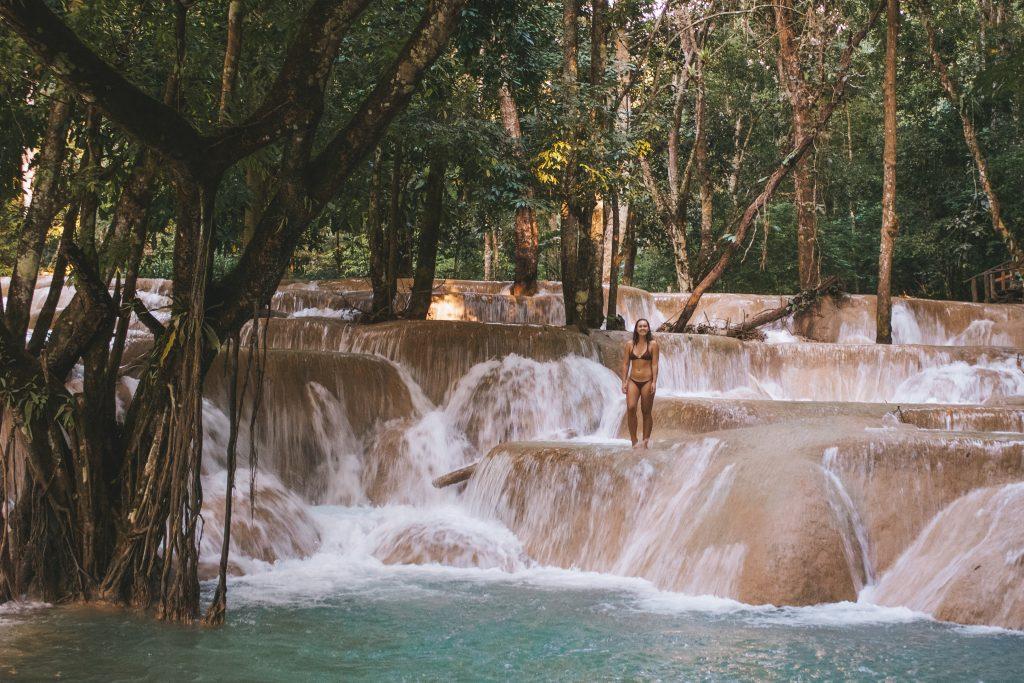 Tad Sei Waterfall